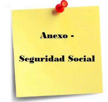Anexo Circular – Seguridad Social – BASES Y TIPOS COTIZACION