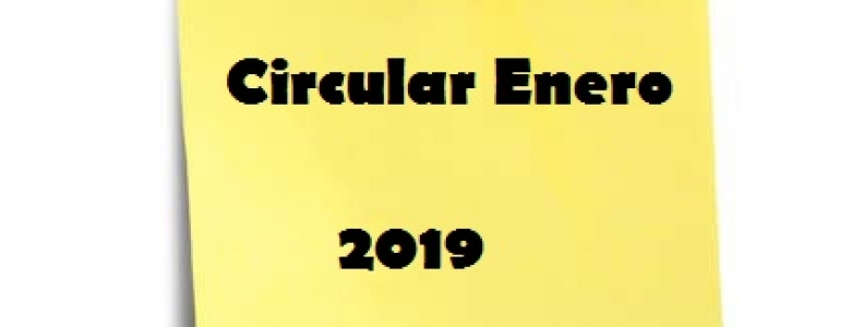 CIRCULAR ENERO 2019