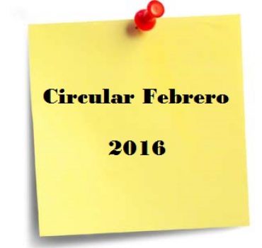 CIRCULAR FEBRERO – PRESENTACIÓN DE IMPUESTOS