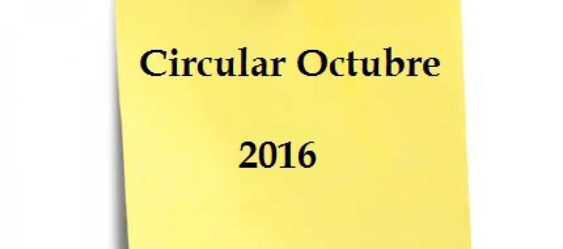 CIRCULAR OCTUBRE – PRESENTACION IMPUESTOS