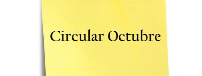CIRCULAR OCTUBRE
